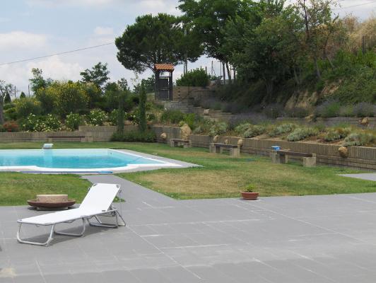 Progetto casa servizi immobiliari benevento villa - Progetto villa con piscina ...